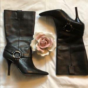 MICHAEL Michael Kors Shoes - Michael Kors knee high leather boots sz 6.5